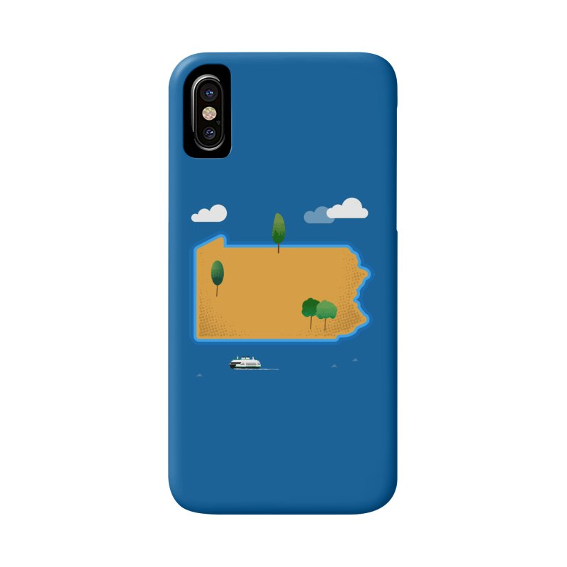 Pennsylvania Island Accessories Phone Case by Phillustrations's Artist Shop