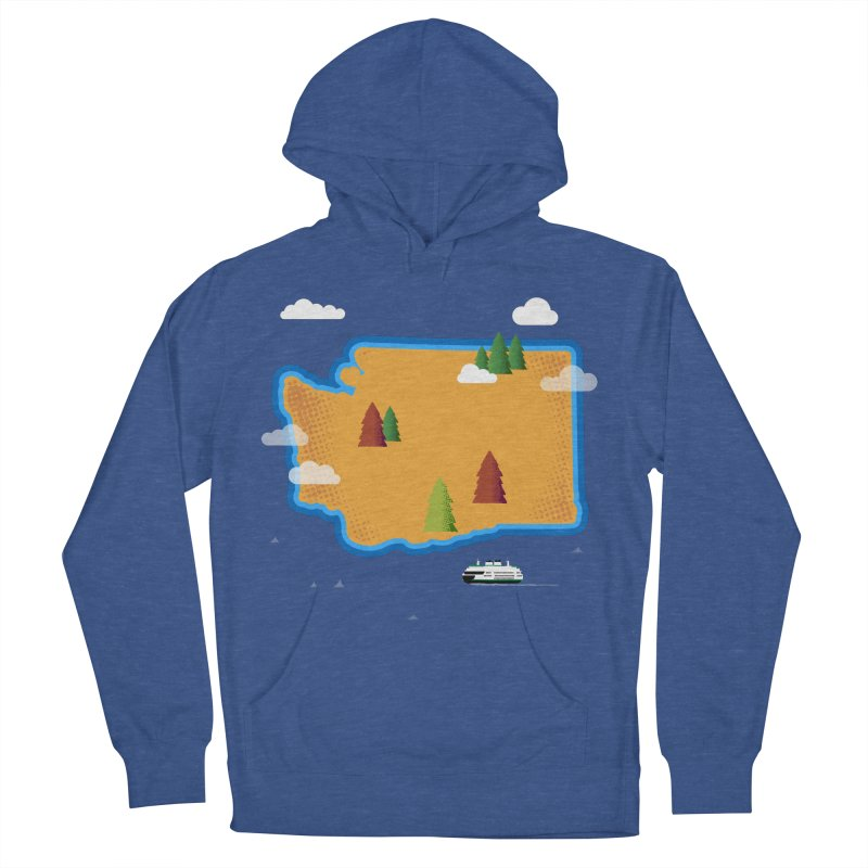 Washington Island Women's Pullover Hoody by Phillustrations's Artist Shop