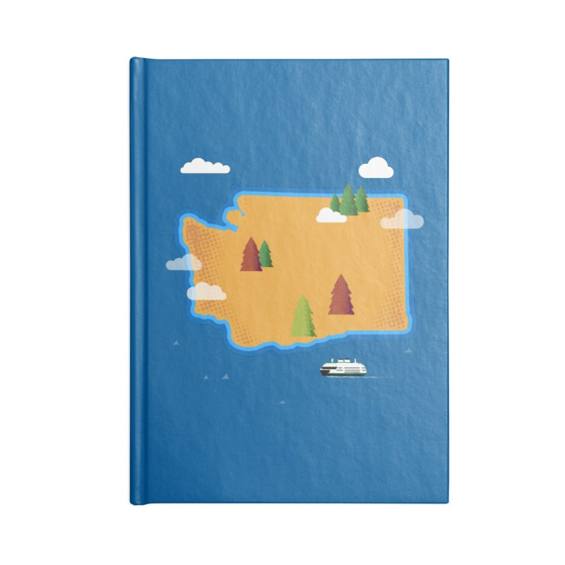Washington Island Accessories Notebook by Phillustrations's Artist Shop
