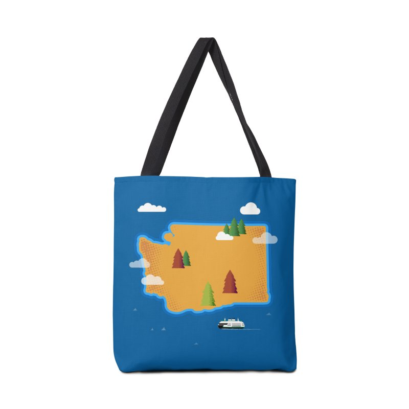 Washington Island Accessories Bag by Phillustrations's Artist Shop