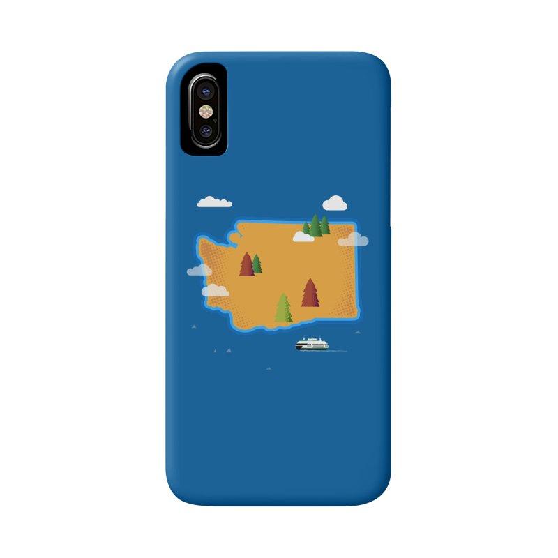 Washington Island Accessories Phone Case by Phillustrations's Artist Shop