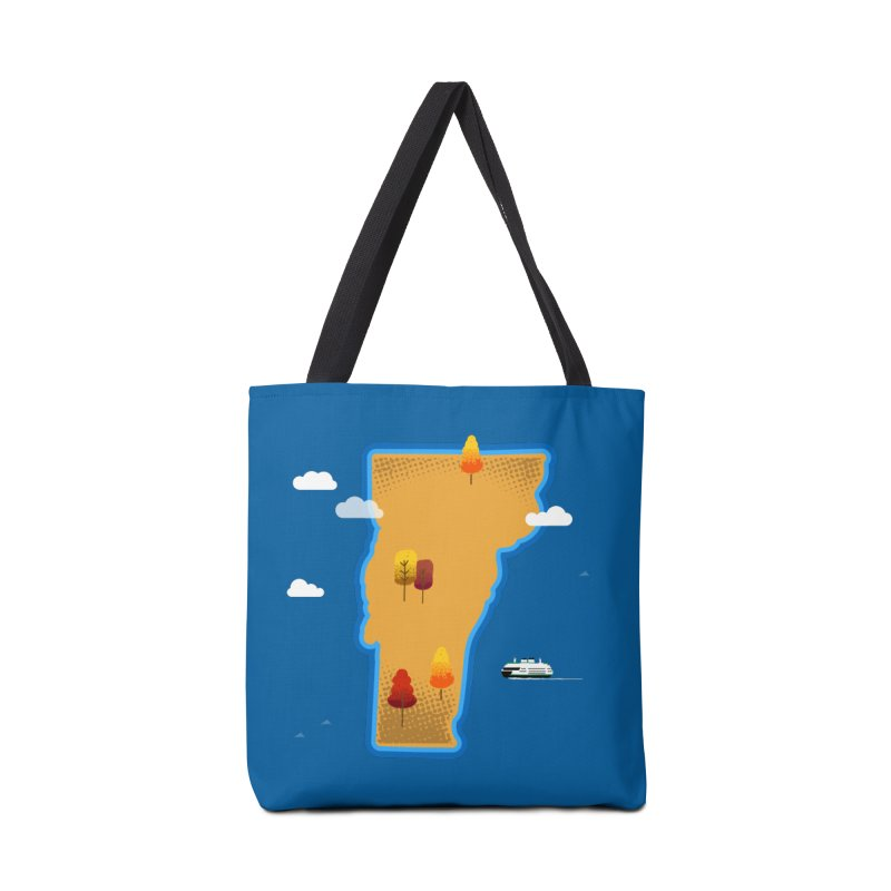 Vermont Island Accessories Bag by Phillustrations's Artist Shop