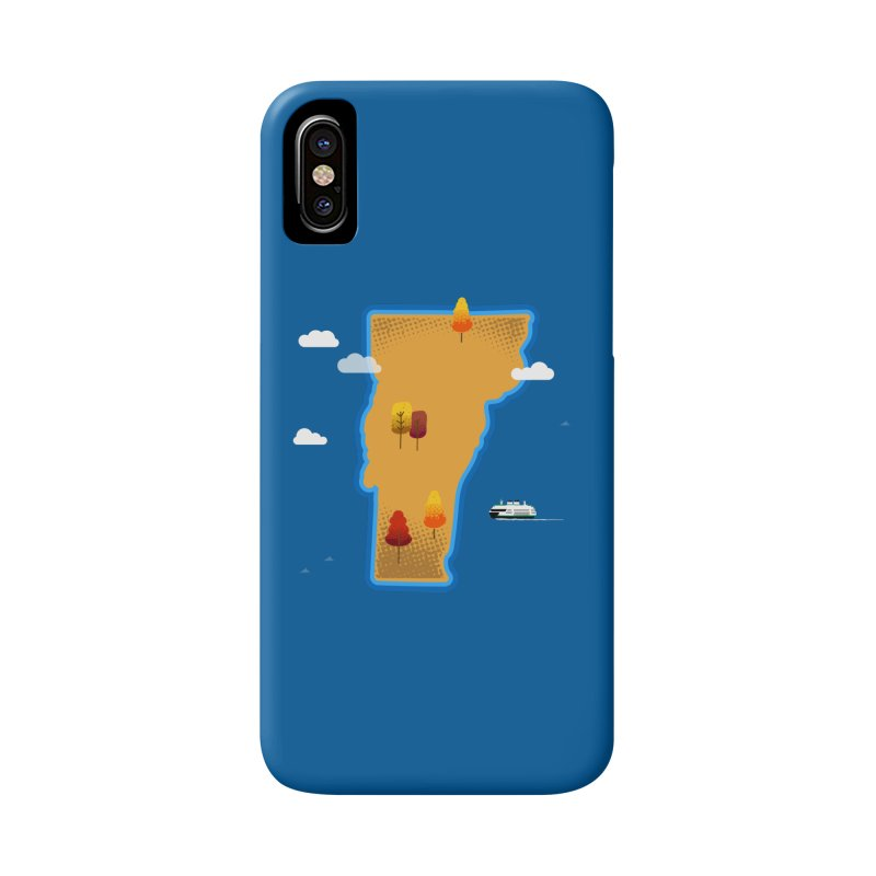 Vermont Island Accessories Phone Case by Phillustrations's Artist Shop