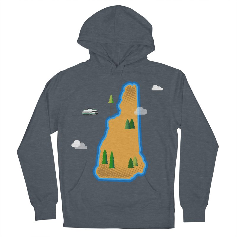 New Hampshire Island Men's Pullover Hoody by Phillustrations's Artist Shop
