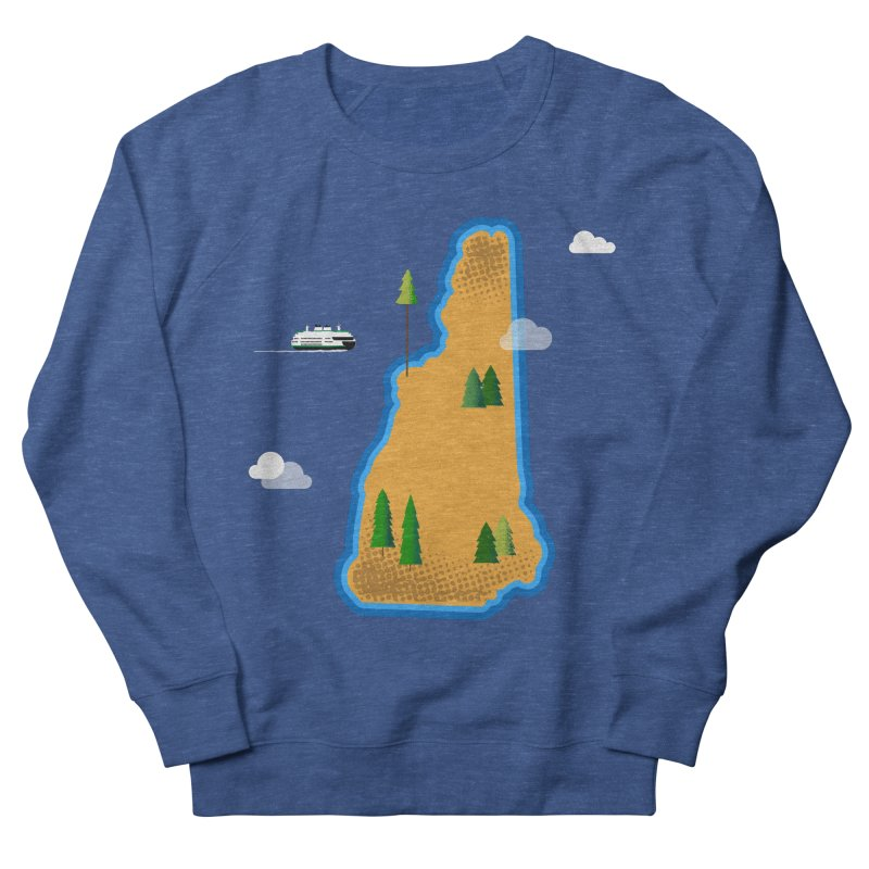 New Hampshire Island Women's Sweatshirt by Phillustrations's Artist Shop