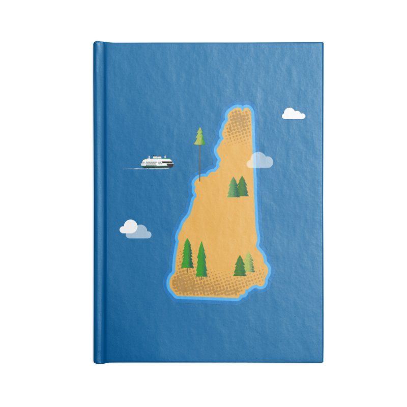 New Hampshire Island Accessories Notebook by Phillustrations's Artist Shop