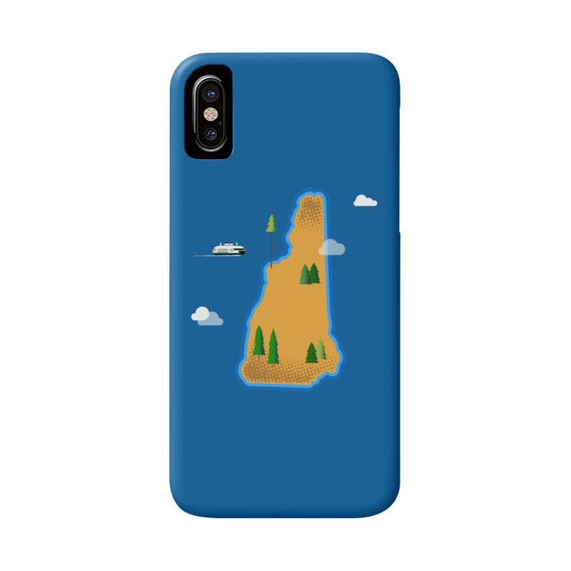 New Hampshire Island Accessories Phone Case by Phillustrations's Artist Shop