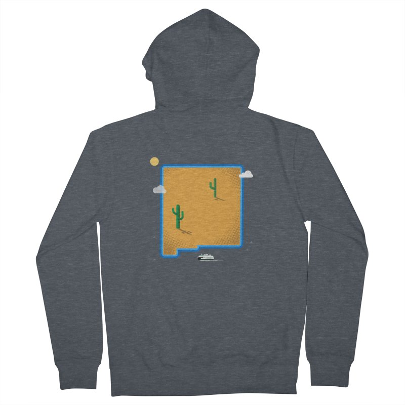 New Mexico Island Women's Zip-Up Hoody by Phillustrations's Artist Shop