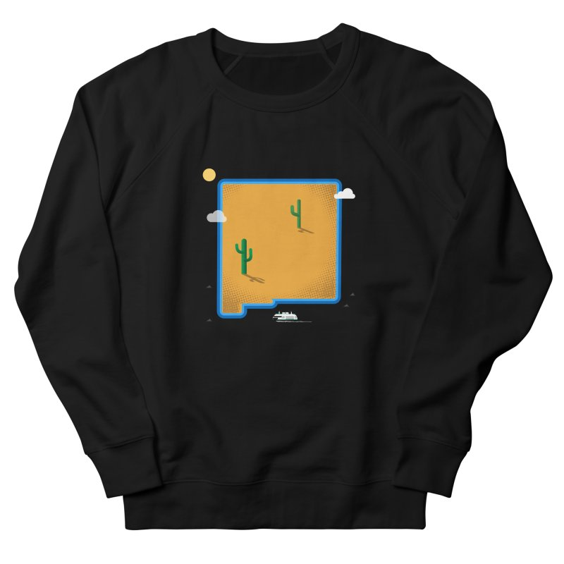 New Mexico Island Men's Sweatshirt by Phillustrations's Artist Shop
