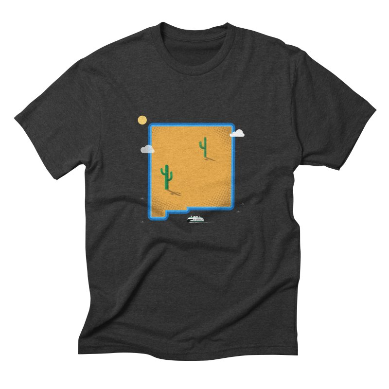 New Mexico Island Men's Triblend T-Shirt by Phillustrations's Artist Shop