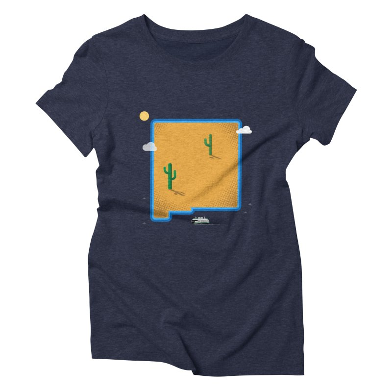 New Mexico Island Women's Triblend T-Shirt by Phillustrations's Artist Shop