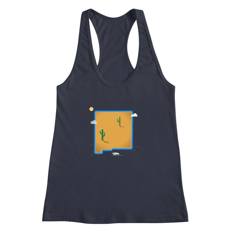 New Mexico Island Women's Tank by Phillustrations's Artist Shop