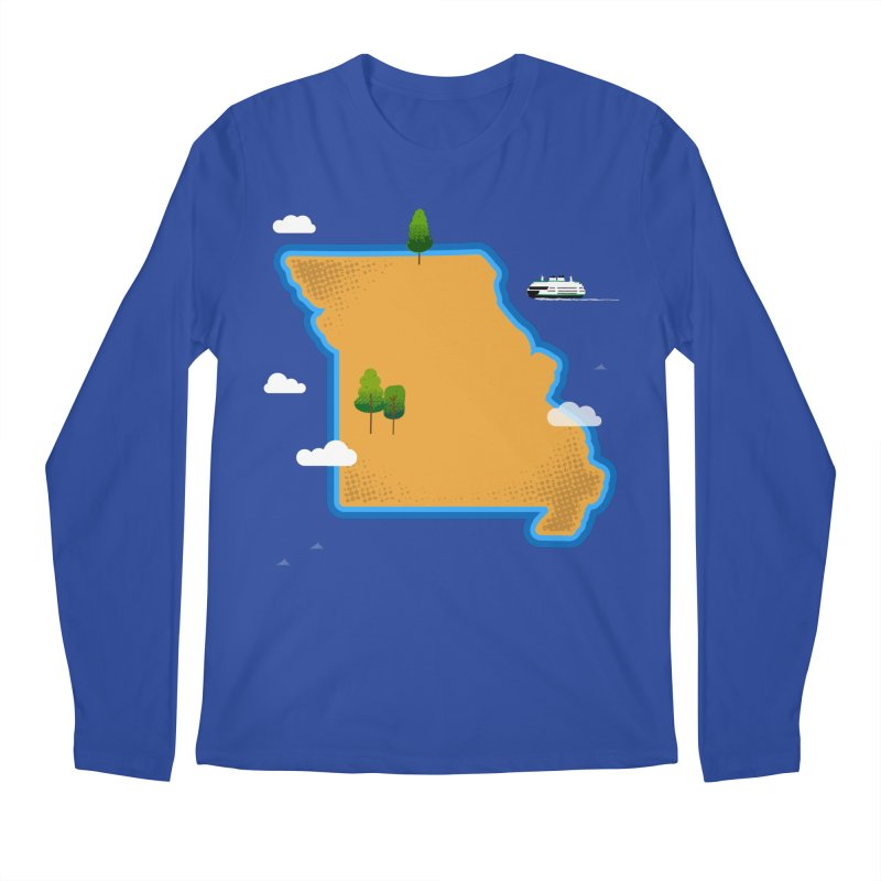 Missouri Island Men's Longsleeve T-Shirt by Illustrations by Phil