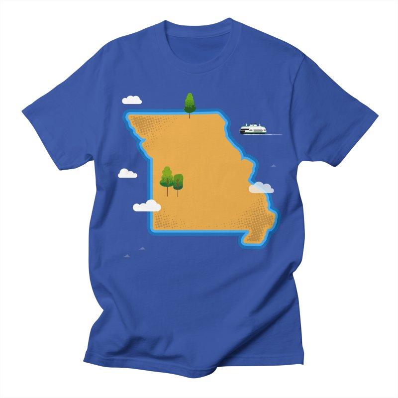 Missouri Island Women's Regular Unisex T-Shirt by Illustrations by Phil