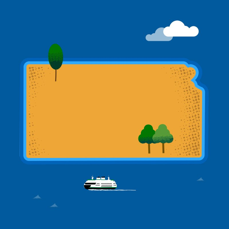 Kansas Island by Illustrations by Phil