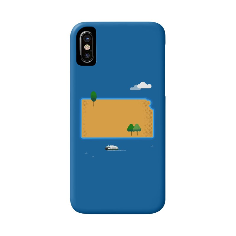 Kansas Island Accessories Phone Case by Illustrations by Phil