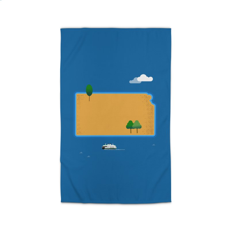 Kansas Island Home Rug by Illustrations by Phil