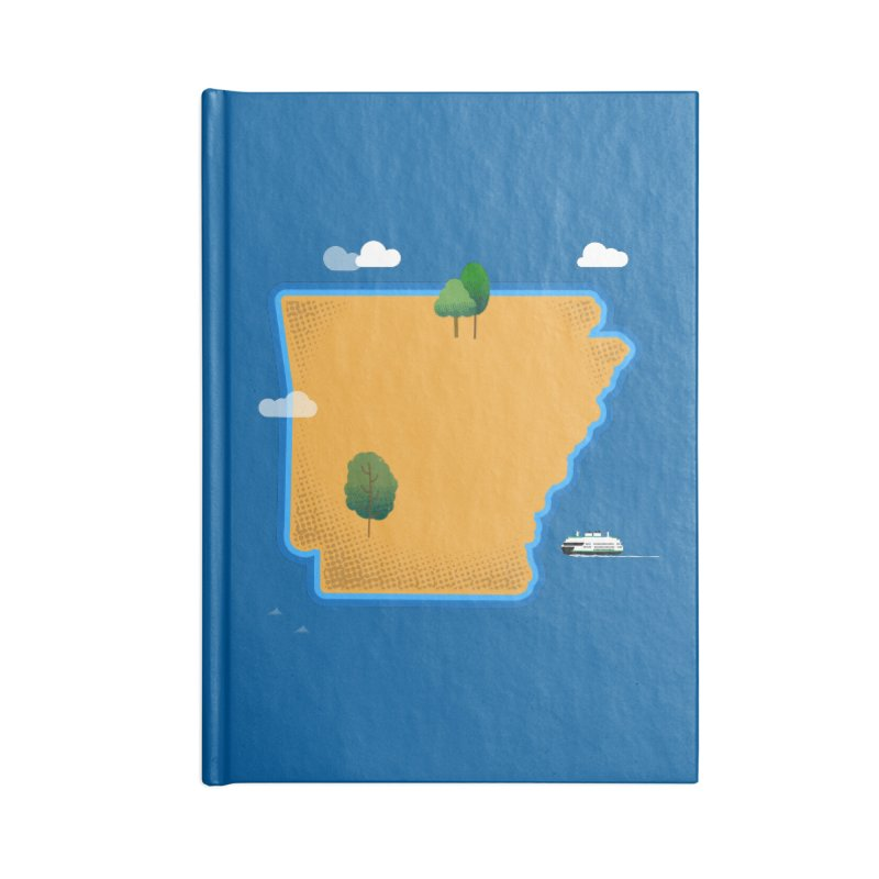 Arkansas Island Accessories Notebook by Illustrations by Phil
