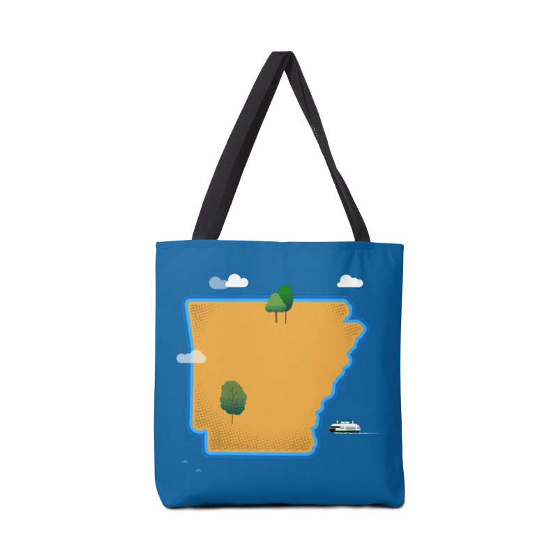 Arkansas Island Accessories Bag by Illustrations by Phil