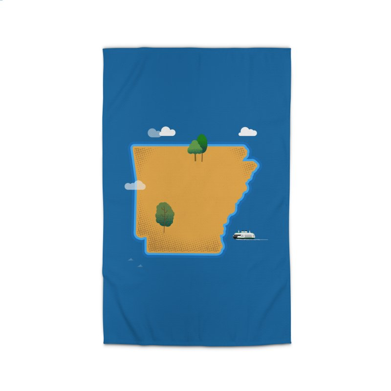 Arkansas Island Home Rug by Illustrations by Phil