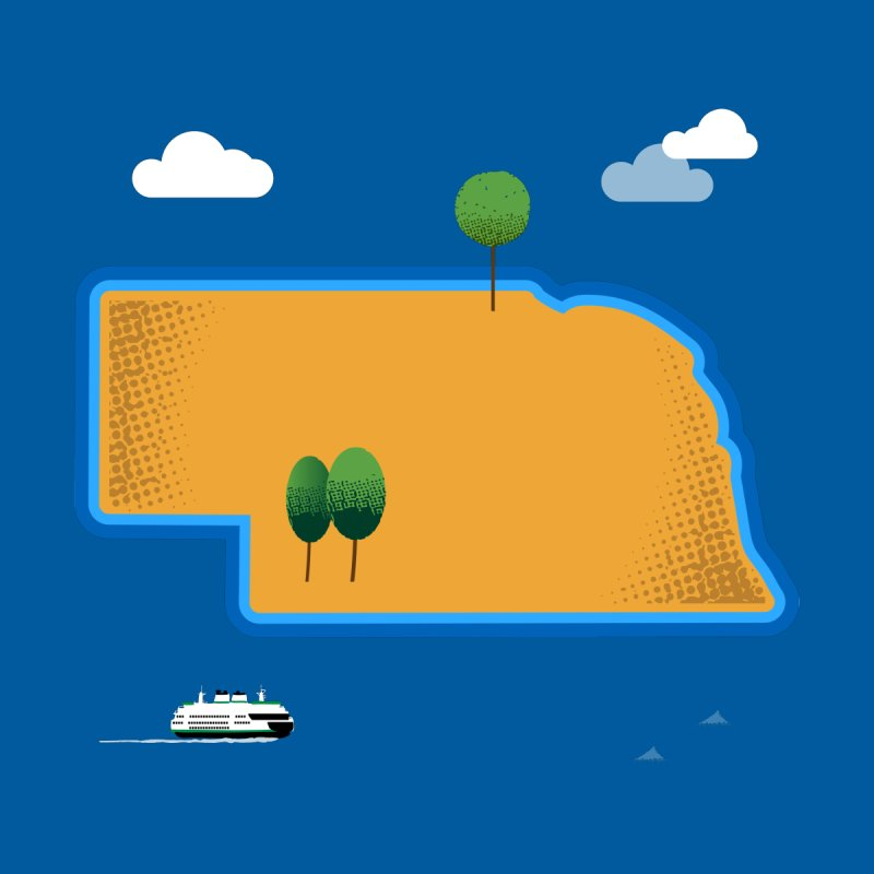 Nebraska Island   by Illustrations by Phil