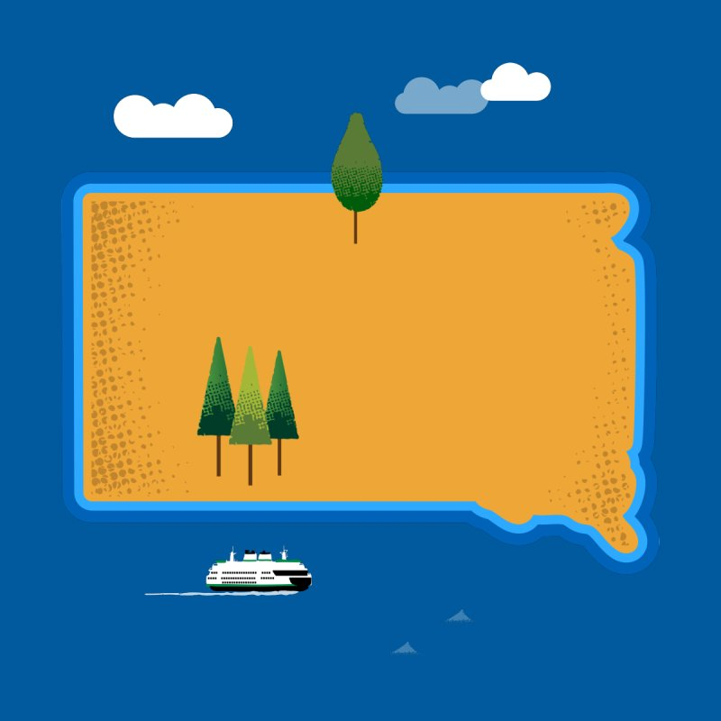 South Dakota island   by Illustrations by Phil