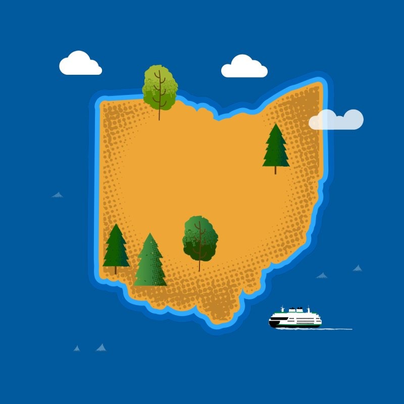 Ohio Island   by Illustrations by Phil