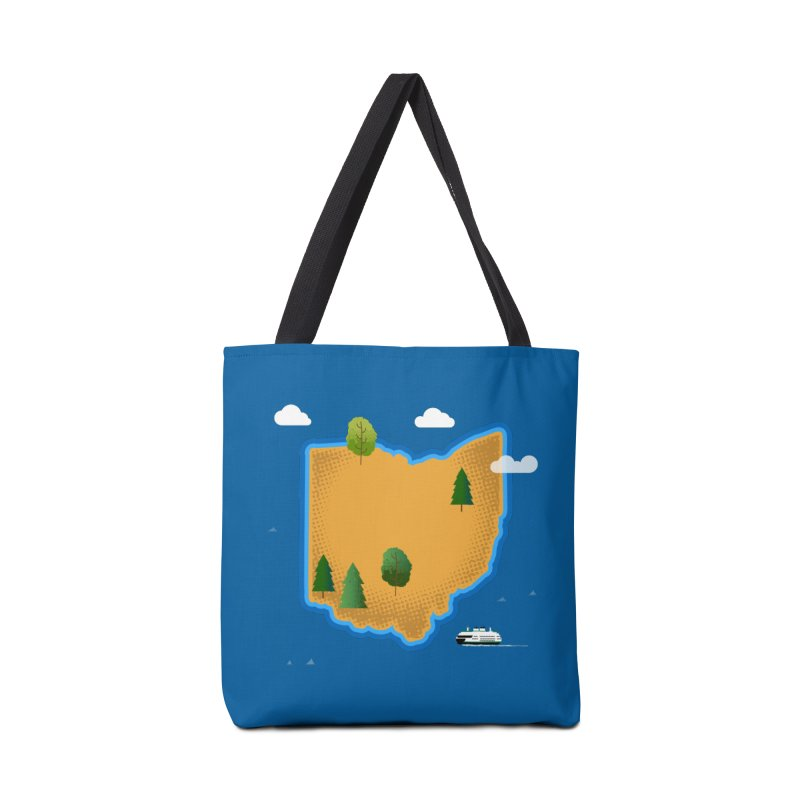 Ohio Island Accessories Bag by Illustrations by Phil