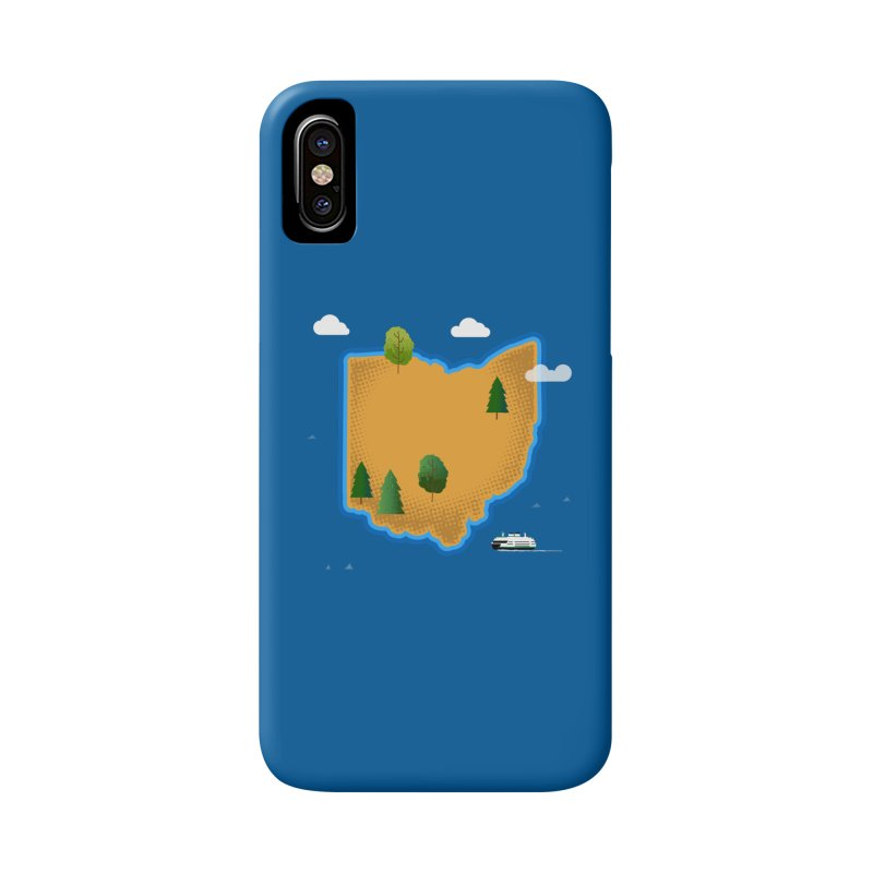 Ohio Island Accessories Phone Case by Illustrations by Phil