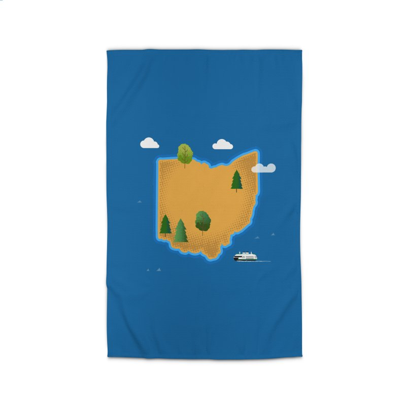 Ohio Island Home Rug by Illustrations by Phil