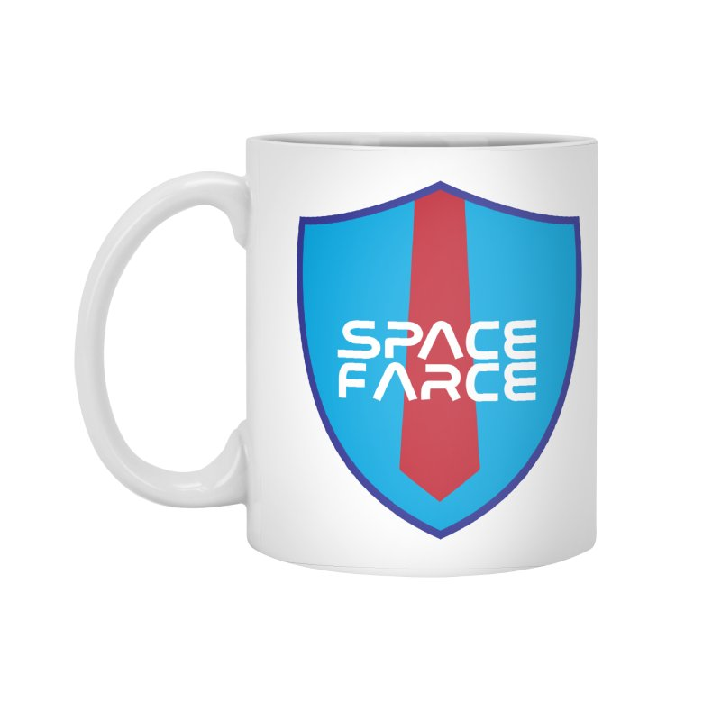 Space Farce Accessories Standard Mug by Illustrations by Phil