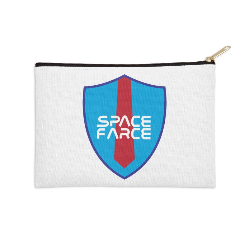 Space Farce Accessories Zip Pouch by Illustrations by Phil