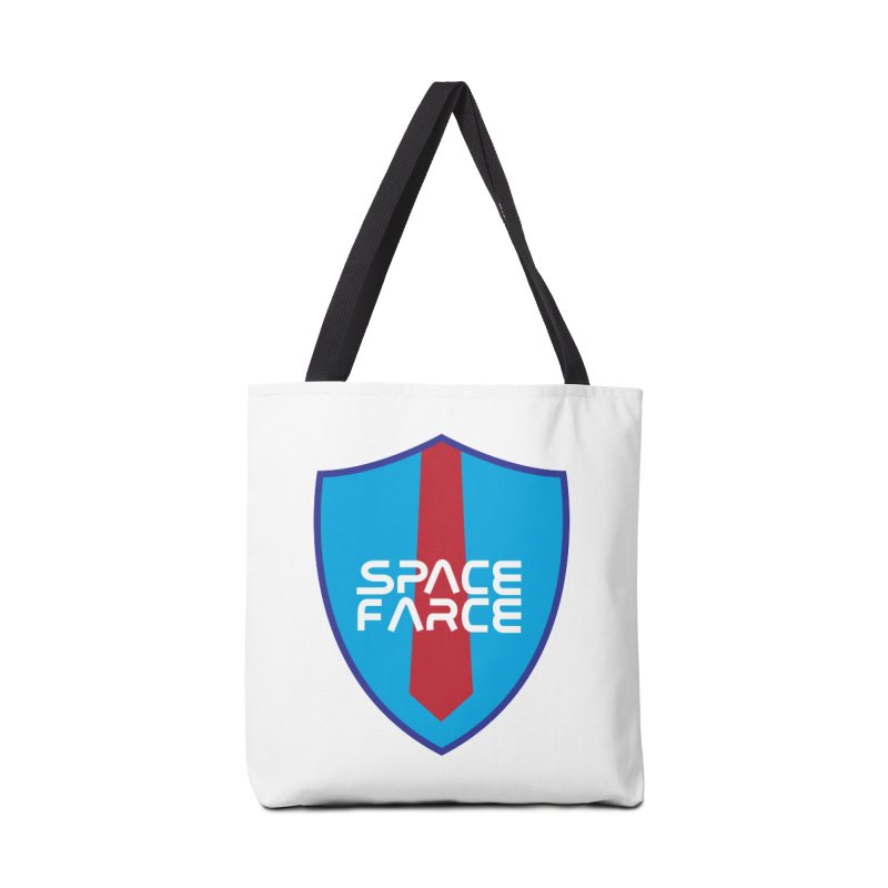 Space Farce Accessories Bag by Illustrations by Phil