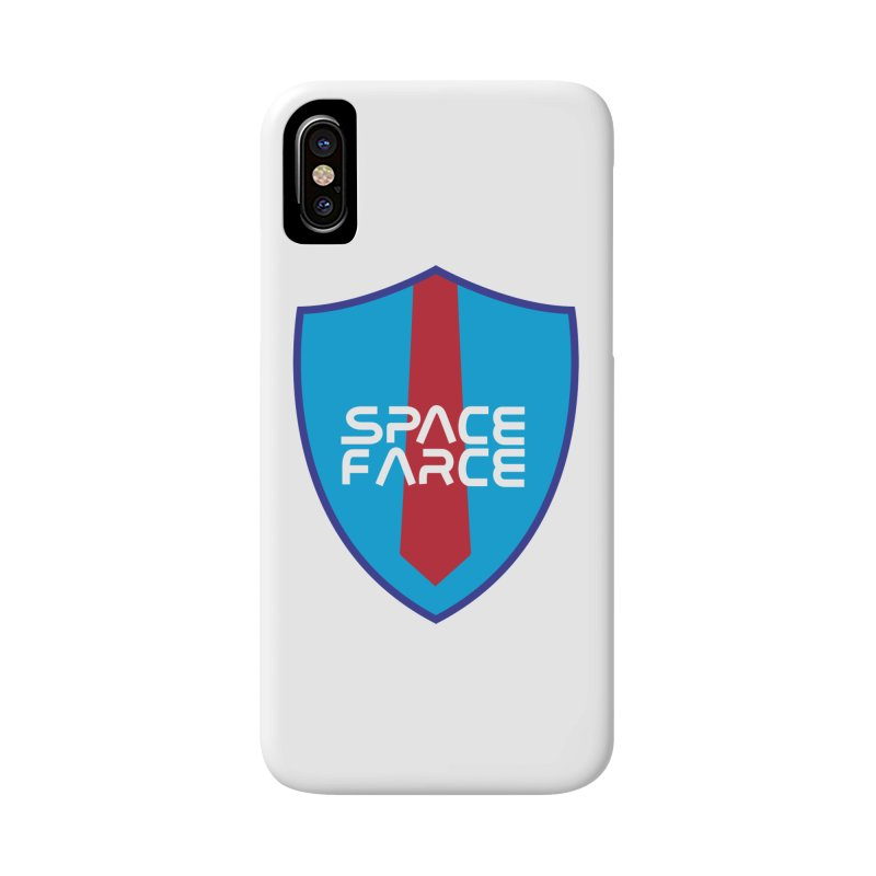 Space Farce Accessories Phone Case by Illustrations by Phil