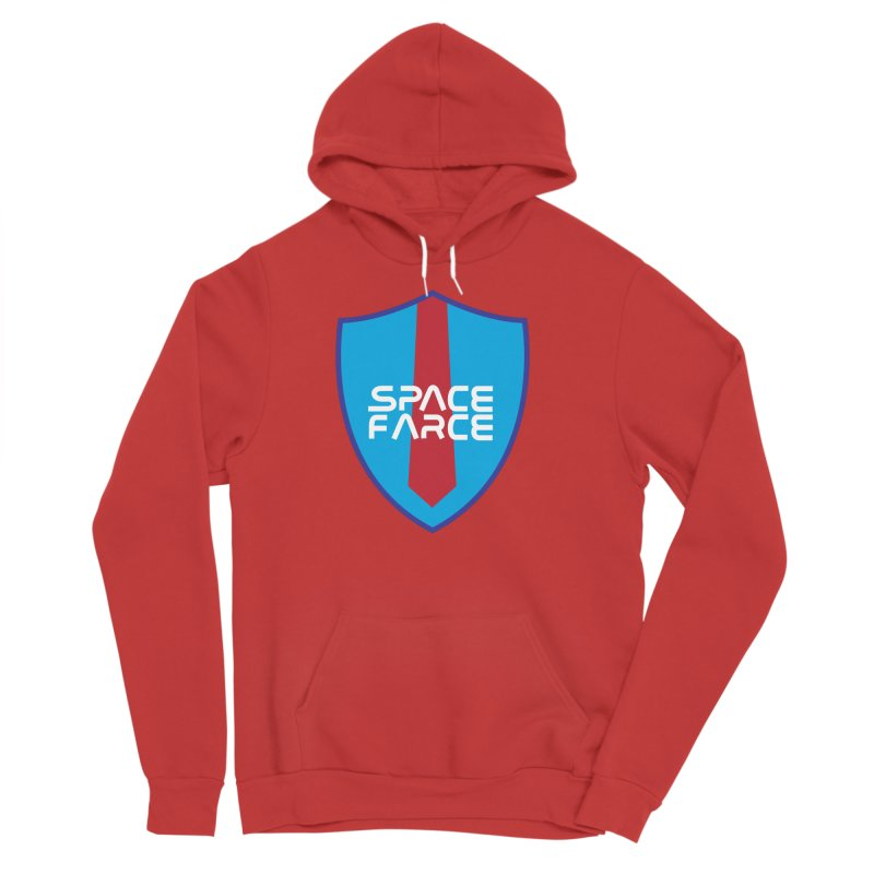 Space Farce Men's Sponge Fleece Pullover Hoody by Illustrations by Phil