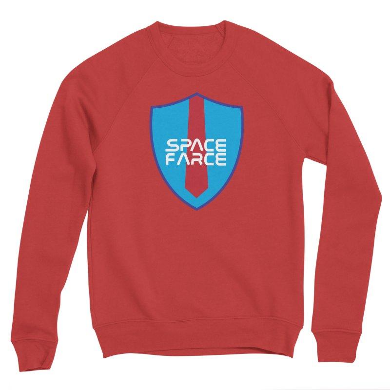 Space Farce Men's Sponge Fleece Sweatshirt by Illustrations by Phil