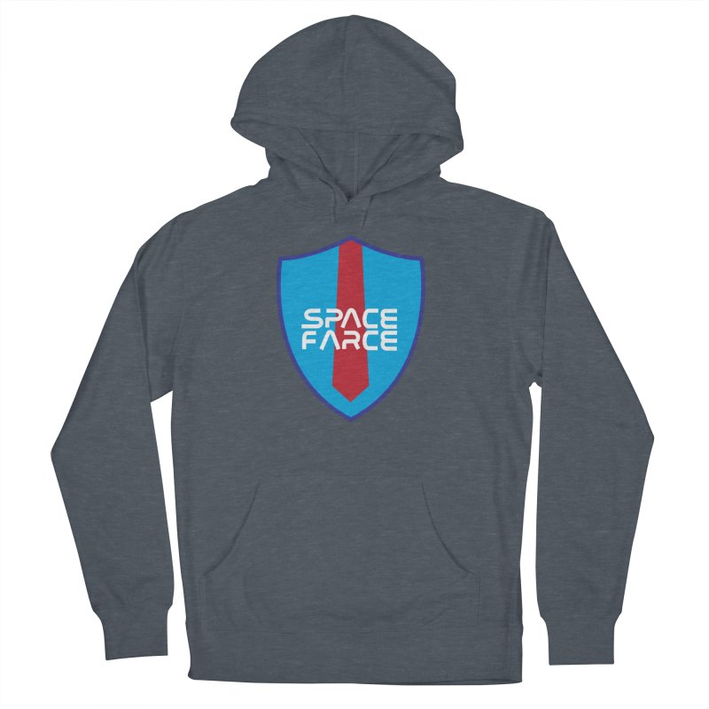 Space Farce Men's French Terry Pullover Hoody by Illustrations by Phil