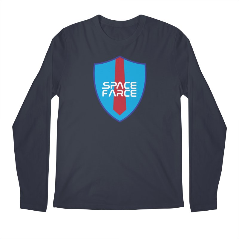 Space Farce Men's Regular Longsleeve T-Shirt by Illustrations by Phil