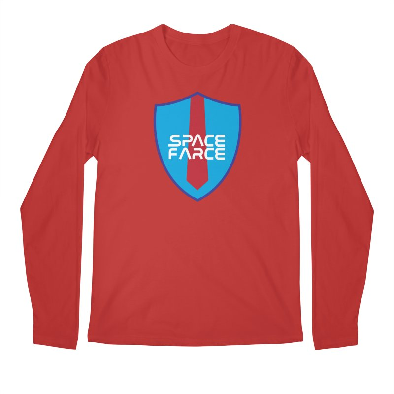 Space Farce Men's Regular Longsleeve T-Shirt by Illustrations by Phil
