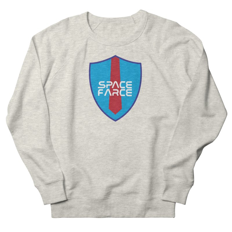 Space Farce Men's French Terry Sweatshirt by Illustrations by Phil