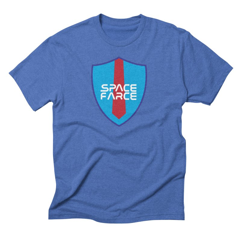 Space Farce Men's Triblend T-Shirt by Illustrations by Phil