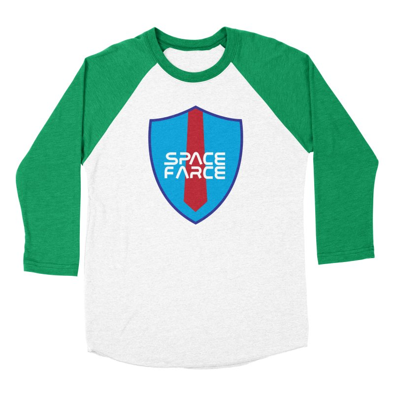 Space Farce Men's Baseball Triblend Longsleeve T-Shirt by Illustrations by Phil
