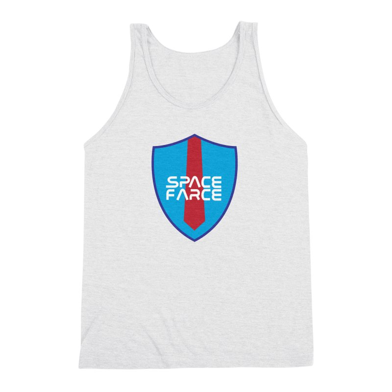 Space Farce Men's Triblend Tank by Illustrations by Phil