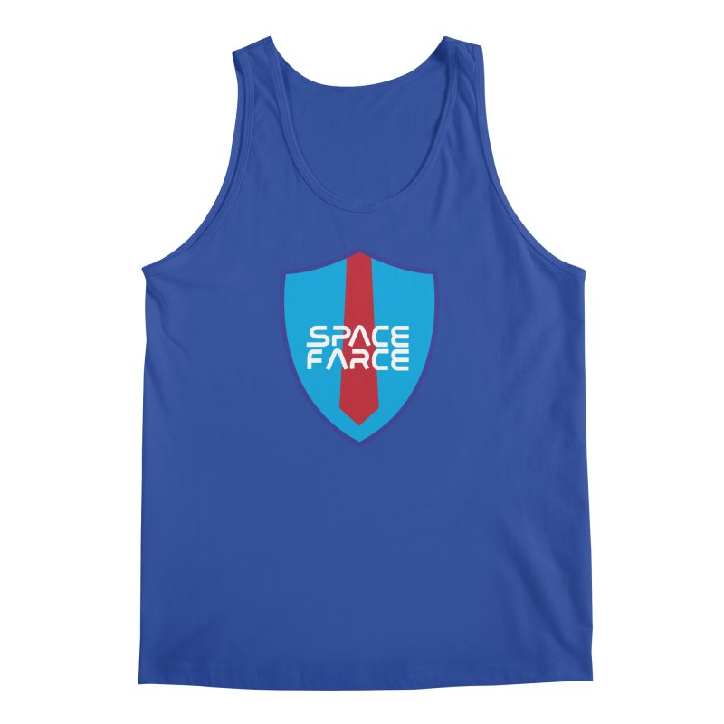 Space Farce Men's Regular Tank by Illustrations by Phil
