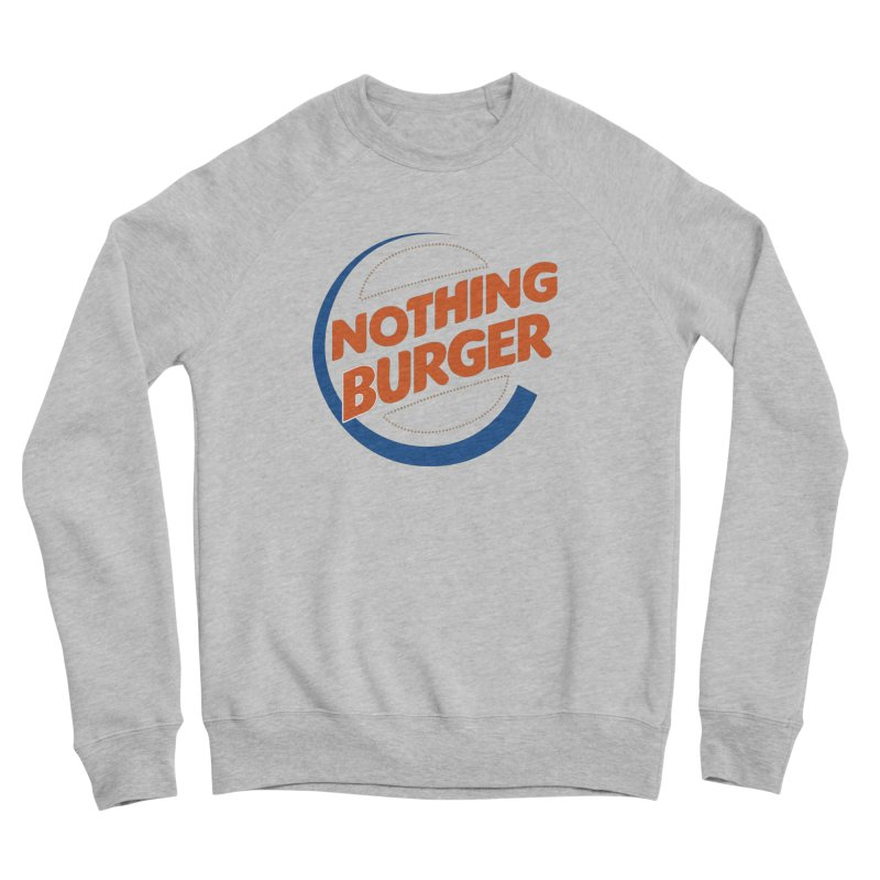 Nothing Burger Men's Sweatshirt by Illustrations by Phil