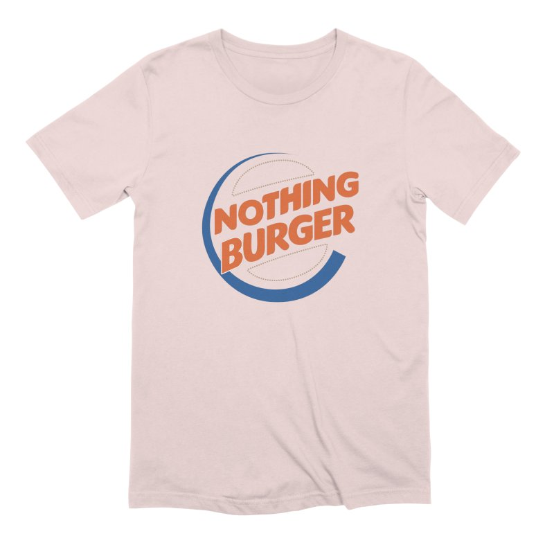 Nothing Burger Men's Extra Soft T-Shirt by Illustrations by Phil