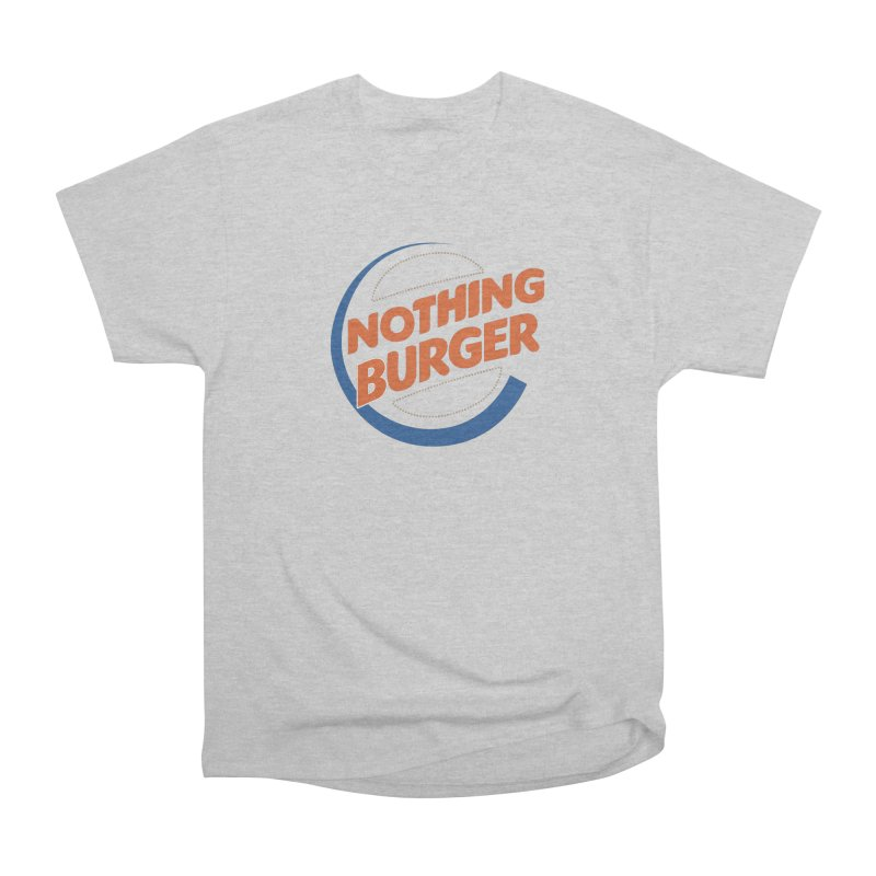 Nothing Burger Men's Heavyweight T-Shirt by Illustrations by Phil