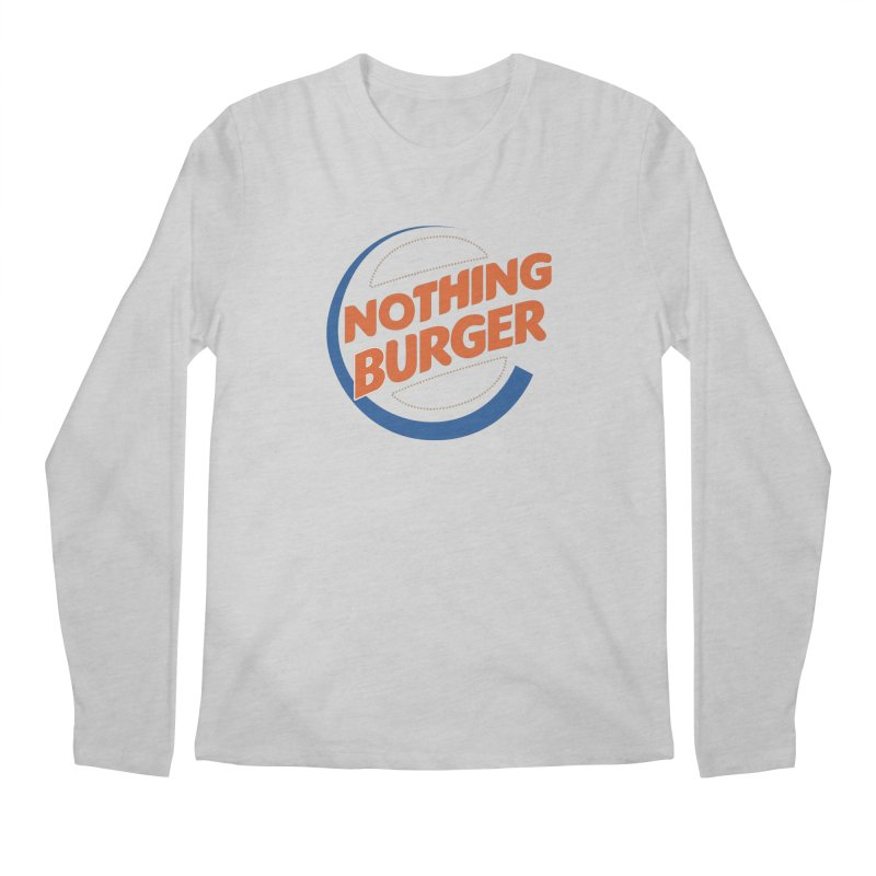 Nothing Burger Men's Regular Longsleeve T-Shirt by Illustrations by Phil