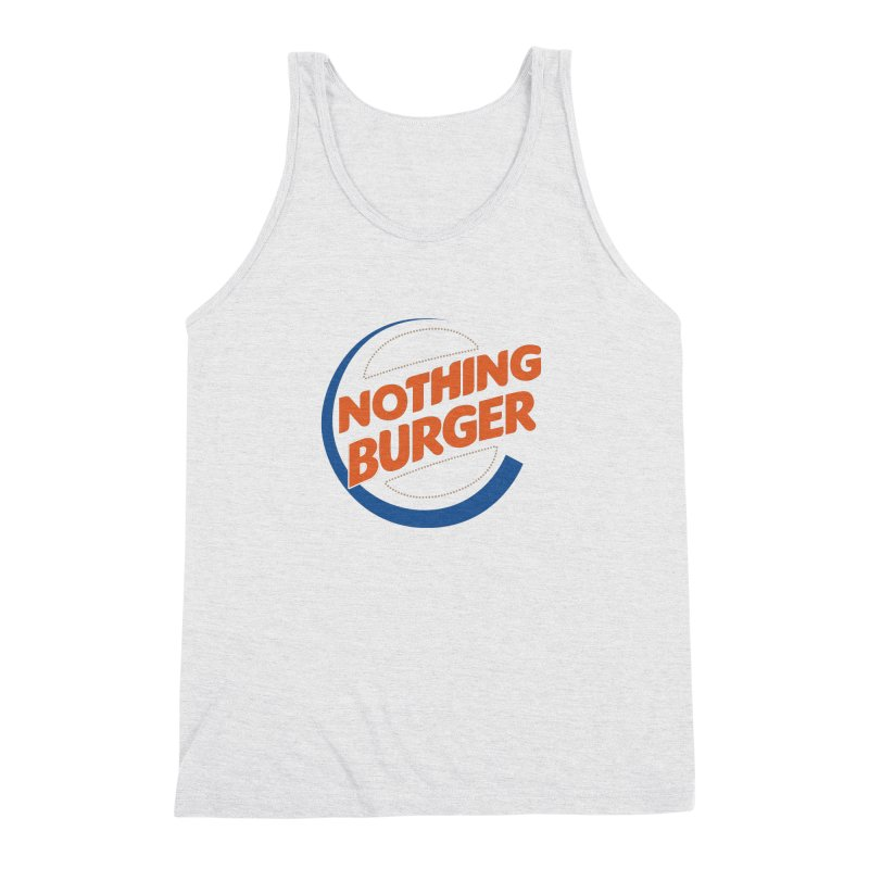 Nothing Burger Men's Triblend Tank by Illustrations by Phil