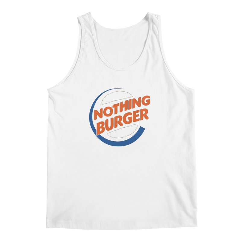 Nothing Burger Men's Regular Tank by Illustrations by Phil
